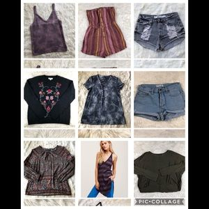 Bundle of 9 items